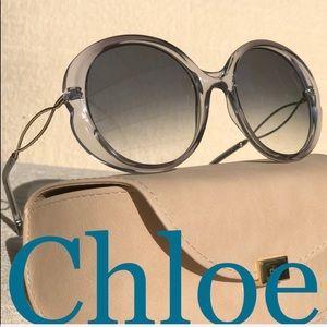 💯 CHLOE Rubie 57mm sunglasses